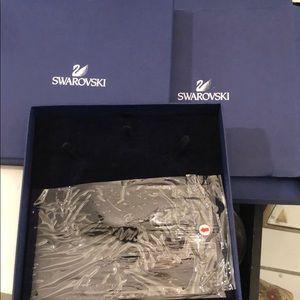 """Empty Swarovski 8""""x 8"""" Necklace Box"""